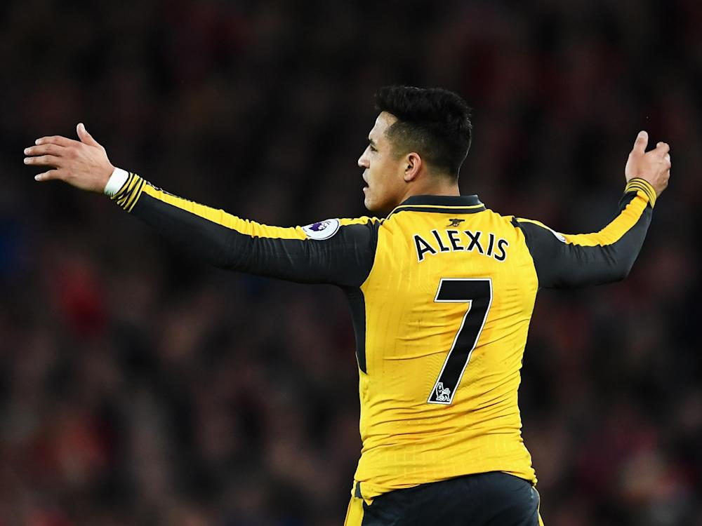 Sanchez will enter the final year of his contract in the summer: Getty
