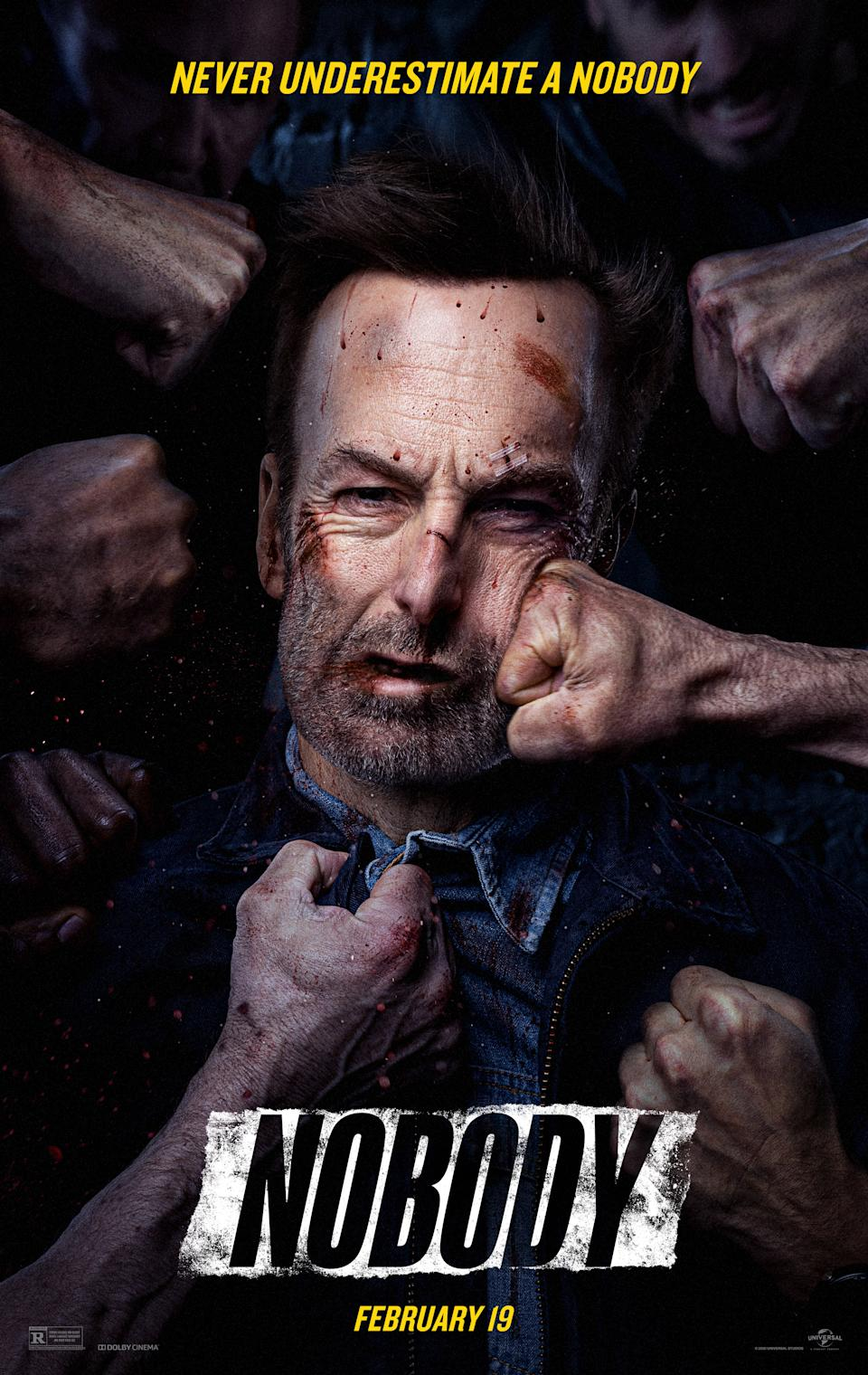 The poster for Nobody. (Universal Pictures)