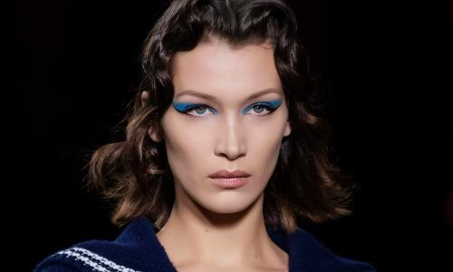 Blue is the new neutral for eye makeup