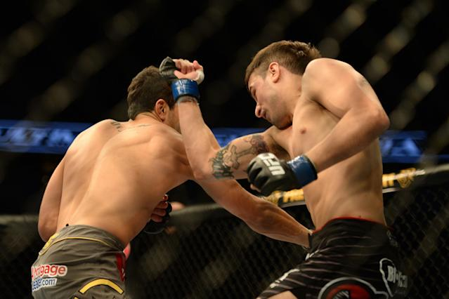 With pressure off, Myles Jury ready for Diego Sanchez