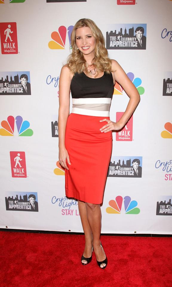 """Ivanka Trump attends the """"Celebrity Apprentice"""" Live Finale at American Museum of Natural History on May 20, 2012 in New York City."""