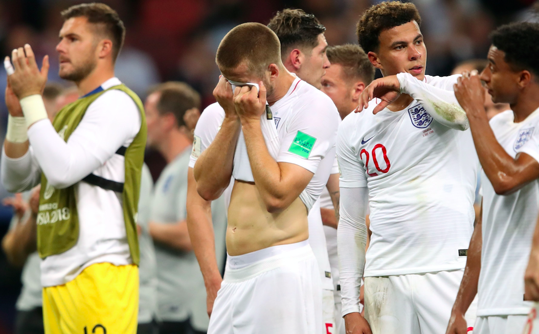 <em>England crashed out of the World Cup on Wednesday night (Rex)</em>