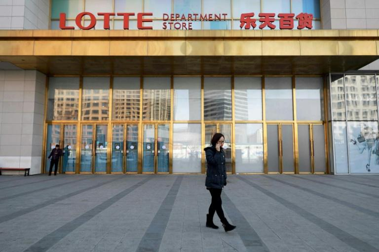 Lotte provided land to Seoul to host a US missile defence system, infuriating Beijing, and nearly 90 percent of its Chinese Lotte Mart stores have since been forced to close by either authorities or angry demonstrations