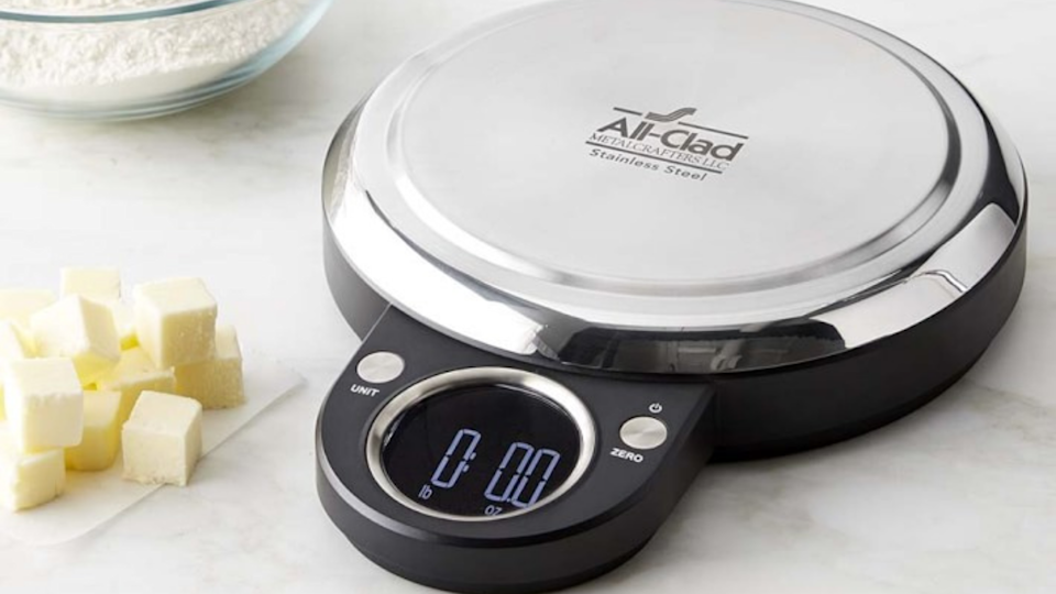 The All-Clad kitchen scale is one of the best digital scales we've tested.