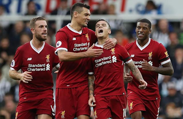 Philippe Coutinho has been welcomed back into the squad after a long summer of speculation with Barcelona