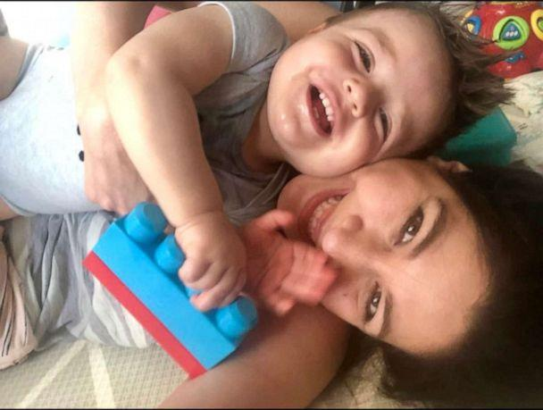 PHOTO: Maritza Dominguez says her son Lincoln is a 'drooly baby' and that she and her husband compare him to a St. Bernard. (Courtesy Maritza Dominguez)