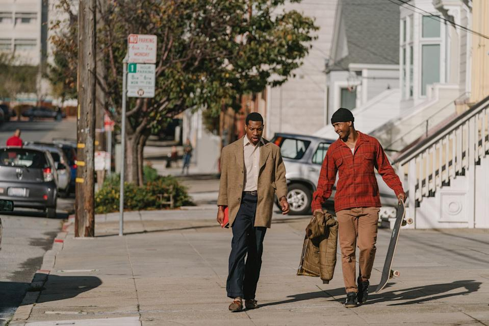 Jonathan Majors and Jimmie Fails in 'The Last Black Man in San Francisco' (A24 Films)