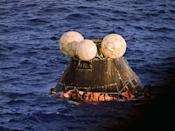 <p>Just two days into its cardinal journey, the Apollo 13 spacecraft had to make an emergency landing in the South Pacific near Samoa. Millions of Americans watched as the lives of the three crew members hung in the balance for days on end.</p>