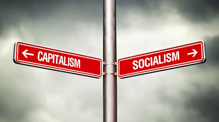 """Dissatisfaction with capitalism has reignited a debate about socialism, but people cannot agree on what """"socialism"""" means. (Photo: stevanovicigor)"""