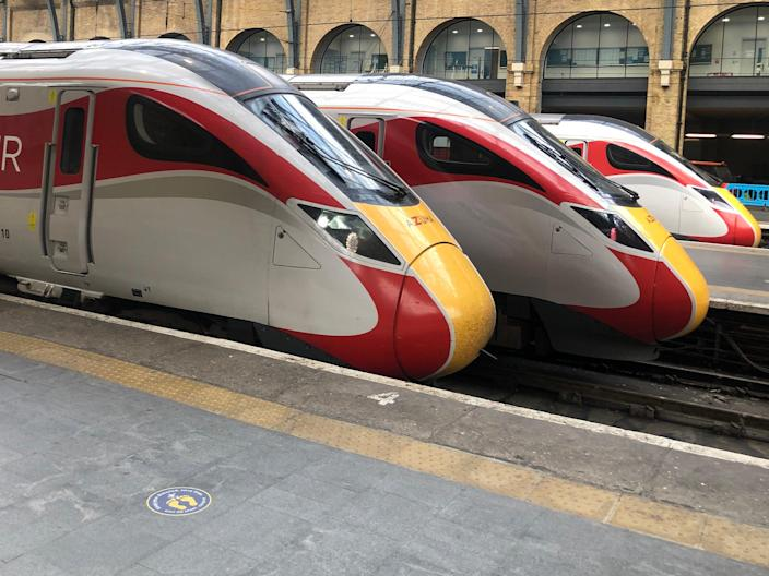 Departing now: Hopes of a railcard refund have been dashed (Simon Calder)