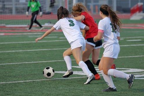 """<span class=""""attribution""""><a class=""""link rapid-noclick-resp"""" href=""""https://www.shutterstock.com/image-photo/athletic-young-women-playing-competitive-university-1359757403"""" rel=""""nofollow noopener"""" target=""""_blank"""" data-ylk=""""slk:JustPixs/Shutterstock"""">JustPixs/Shutterstock</a></span>"""