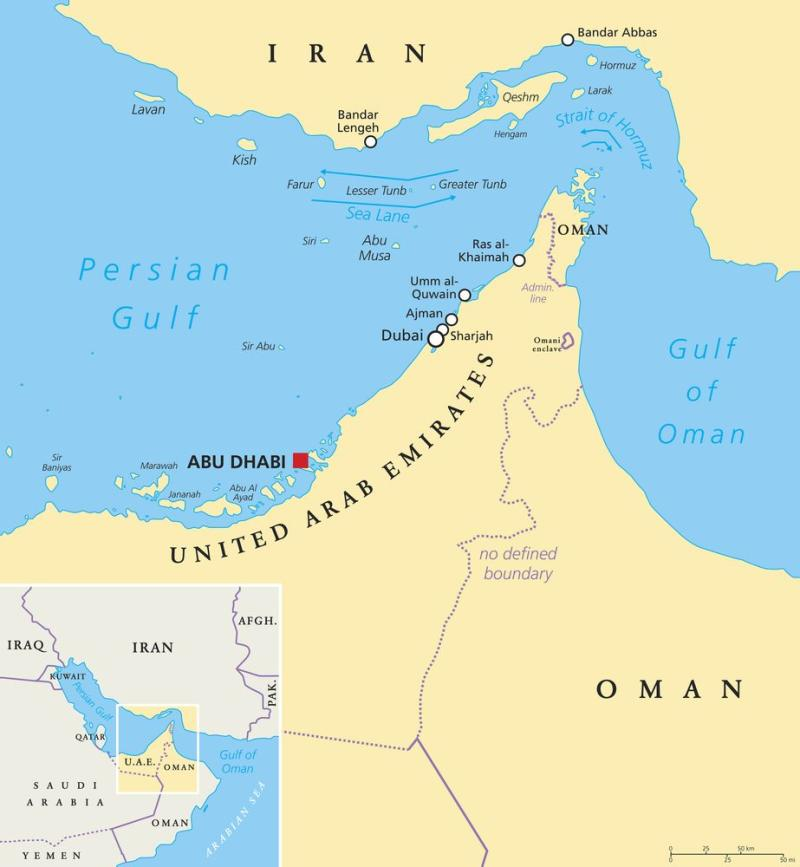 The Strait of Hormuz is the only sea passage from Persian Gulf to Arabian Sea. ( | Peter Hermes Furian Getty Images/iStockphoto.)