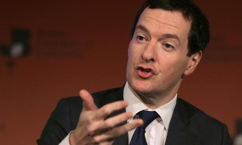 Former British chancellor George Osborne