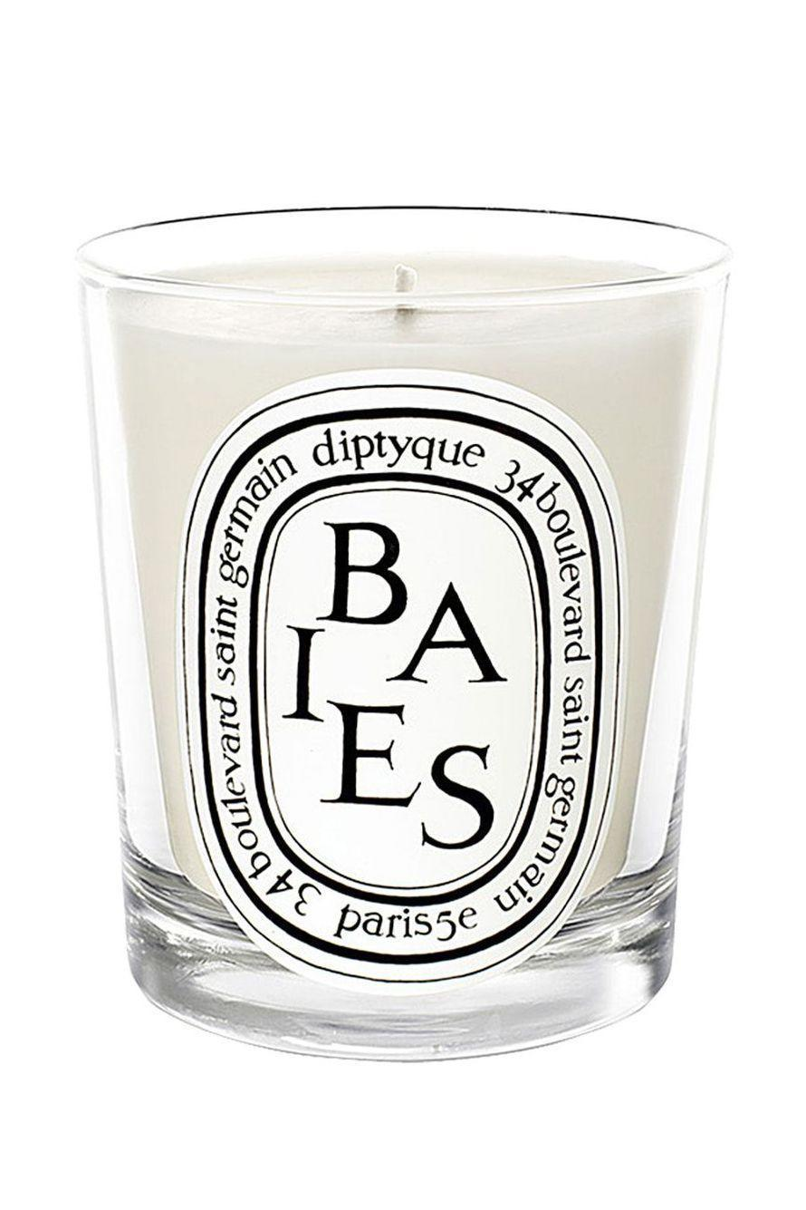 """<p><strong>DIPTYQUE</strong></p><p>nordstrom.com</p><p><strong>$68.00</strong></p><p><a href=""""https://go.redirectingat.com?id=74968X1596630&url=https%3A%2F%2Fwww.nordstrom.com%2Fs%2Fdiptyque-baies-berries-candle%2F3227984&sref=https%3A%2F%2Fwww.elle.com%2Fbeauty%2Fg34975490%2Fbest-candle-brands%2F"""" rel=""""nofollow noopener"""" target=""""_blank"""" data-ylk=""""slk:Shop Now"""" class=""""link rapid-noclick-resp"""">Shop Now</a></p><p>""""The black current and rose scent of Diptyque Baes is like poetry for your nose. Fresh, clean and totally transporting."""" <em>Amy Synnott, executive editor</em></p>"""