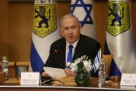 FILE PHOTO: Special cabinet meeting on the occasion of Jerusalem Day, in Jerusalem