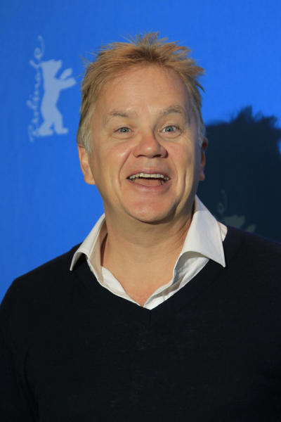 Jury member Tim Robbins poses at the photo call during the jury press conference at the 63rd edition of the Berlinale, International Film Festival in Berlin, Thursday Feb. 7, 2013. (Photo by Joel Ryan/Invision/ AP)