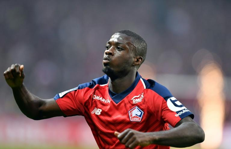 Nicolas Pepe starred for Lille last season before joining Arsenal