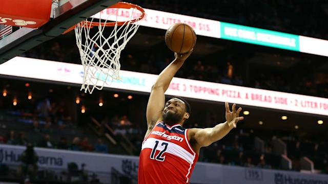 Jabari Parker provided the Wizards with momentum off the bench as he continues to try and make an impression with his new team.