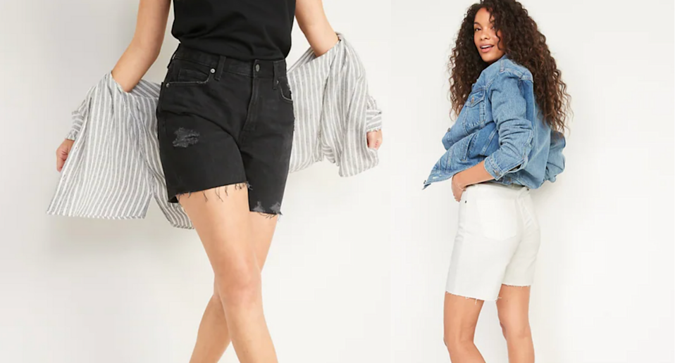 'These are the perfect mom shorts': These Old Navy shorts are on sale — but only for today! (Photos via Old Navy)