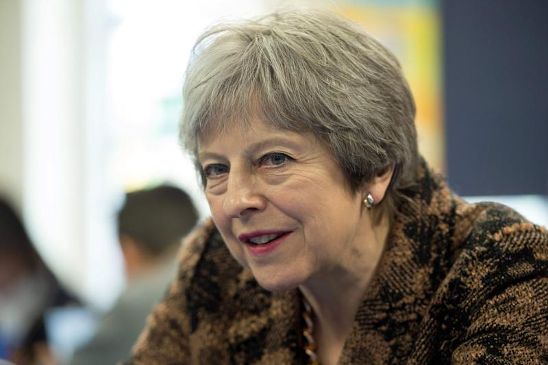 Under pressure: Theresa May faces Brexit turmoil over a potential customs partnership: AFP/Getty Images