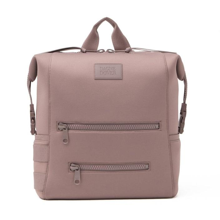 <p>The brand behind this <span>Dagne Dover Indi Diaper Backpack</span> ($155) makes the softest fabrics imaginable!</p>