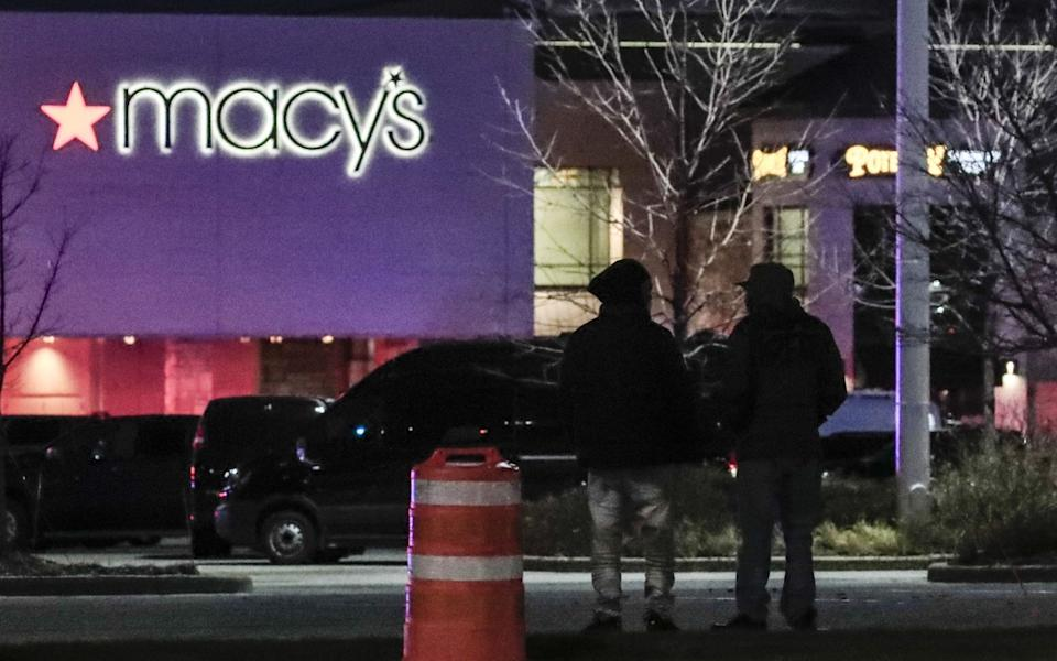 The shooting is believed to have taken place at a Macy's department store - EPA