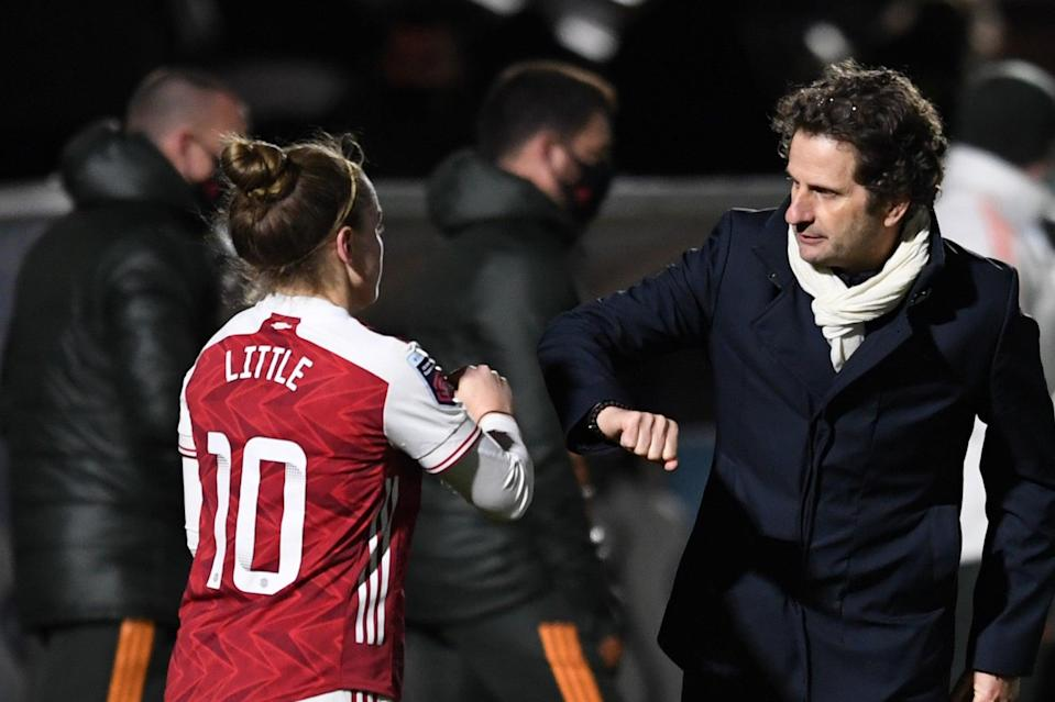<p>Joe Montemurro has been in charge at Arsenal Women since November 2017</p> (Arsenal FC via Getty Images)