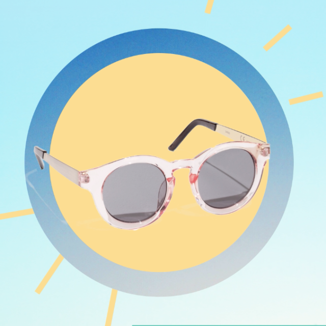 "<p>A pair of glossy, transcluenent sunnies that only look expensive.<span></span></p><p><span>$39, <a rel=""nofollow"" href=""http://www.stories.com/us/Accessories/Sunglasses/Round_Sunglasses/582820-0365735007.2"">stories.com</a>.</span></p>"