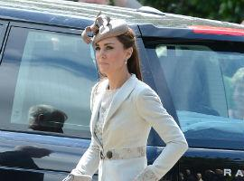 PHOTOS: Kate Middleton Looks Classy At Wills' Cousin's Wedding