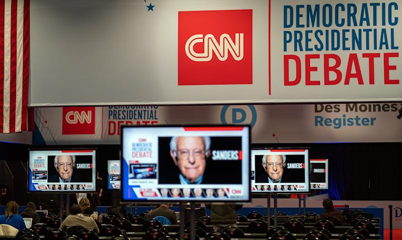 After a 15-year legal fight, CNN settled a dispute with former employees just before the latest Democratic debate. (Photo: KEREM YUCEL via Getty Images)