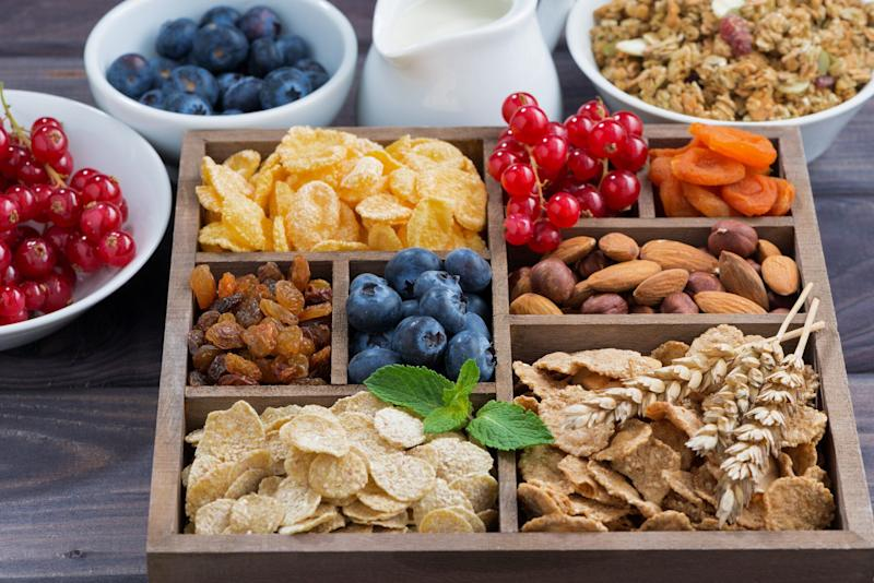 Snacking can help you keep your diet on track, as long as you choose the right foods. [Photo: Getty]