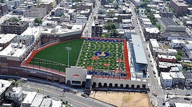 Union City's Eagles Nest, which hosts all its sports teams — Archinect.com