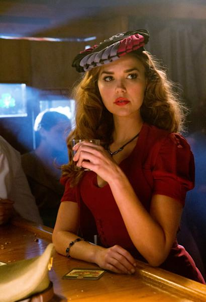 "Arielle Kebbel as Lexi in ""We'll Always Have Bourbon Street,"" the eighth episode of ""The Vampire Diaries"" Season 4."
