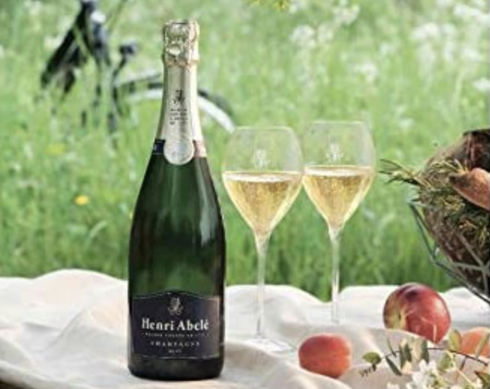 Champagne Henri Abele Traditionnel. Foto: amazon.com.mx