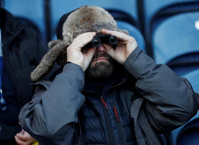 Rugby Union - Six Nations Championship - Scotland vs England - BT Murrayfield Stadium, Edinburgh, Britain - February 24, 2018 Scotland fan before the match REUTERS/Russell Cheyne