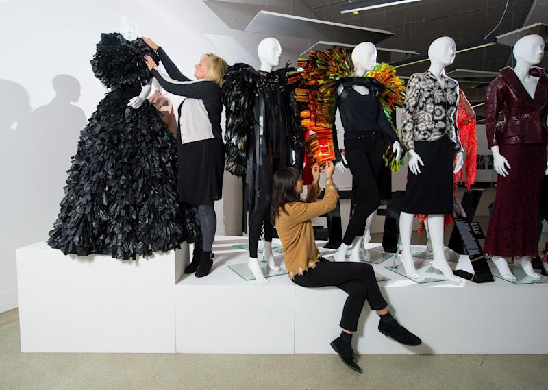 Leading ladies: The 'Women Fashion Power' exhibition at the Design Museum (Dominic Lipinski/PA Archive/PA Images)