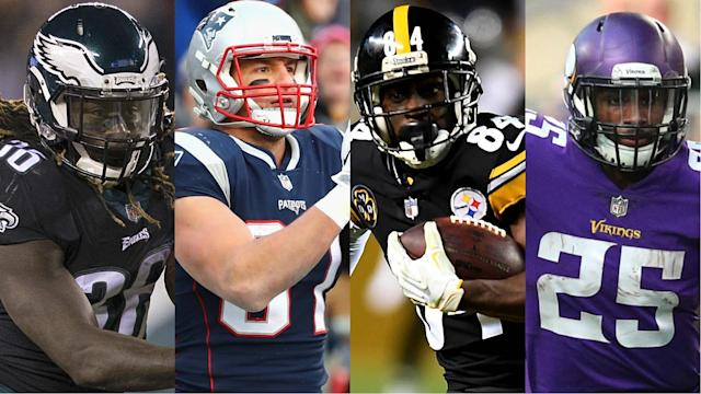After enjoying first-round byes, the fun begins for the Patriots, Steelers, Eagles and Vikings.