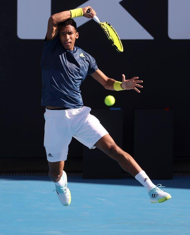 Evans will face Felix Auger-Aliassime in the final on Sunday