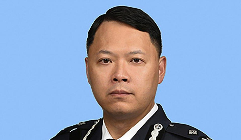 Senior Assistant Commissioner of Police Frederic Choi has been the force's director of national security since July. Photo: Handout