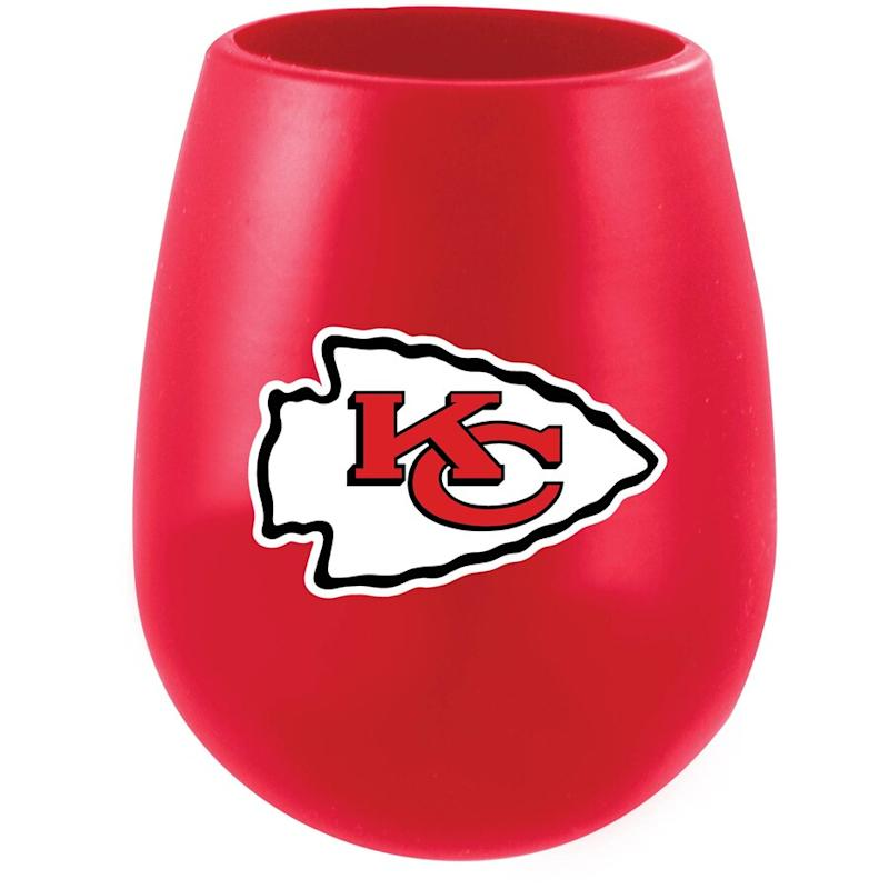 Chiefs Silicone Stemless Tumbler