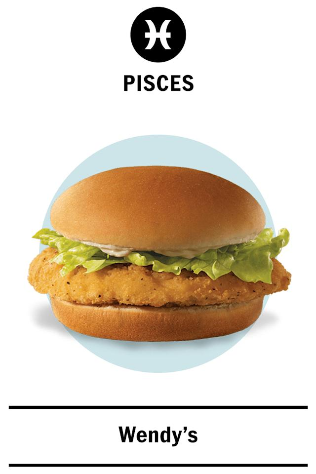 Pisces Like What Fast Food