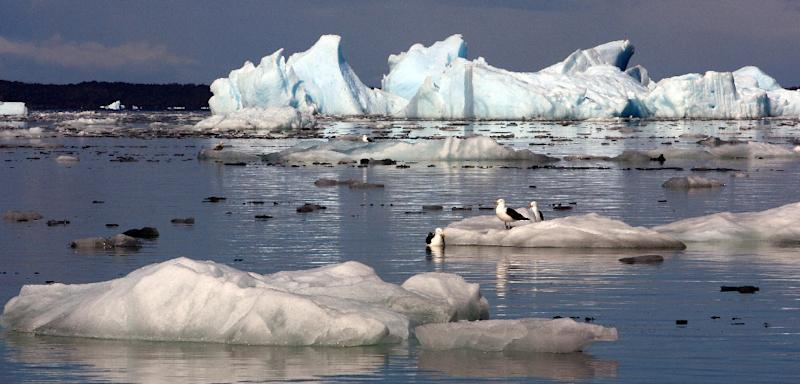 Researchers showed that it was a 55 percent increase of CO2 in the atmosphere -- from 180 to 280 parts per million (ppm) -- over some 7,000 years that melted the world's glaciers to a level that remained stable until the start of our industrial era (AFP Photo/Martin Bernetti)