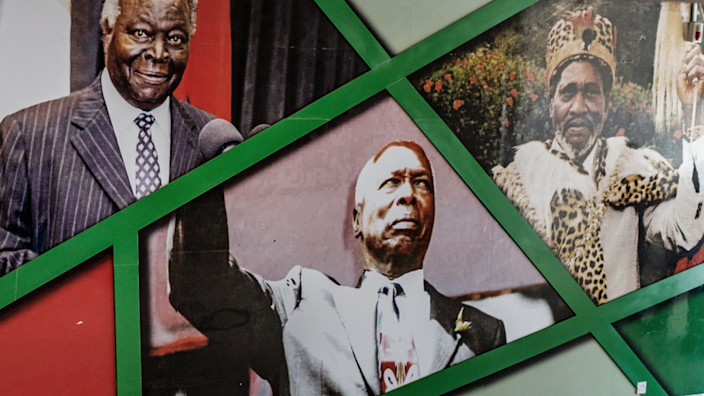 Kenya's presidents until August 2010 - from right to left Jomo Kenyatta, Daniel arap Moi and Mwai Kibaki - had been all-powerful