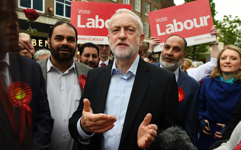 The Labour leader - EPA