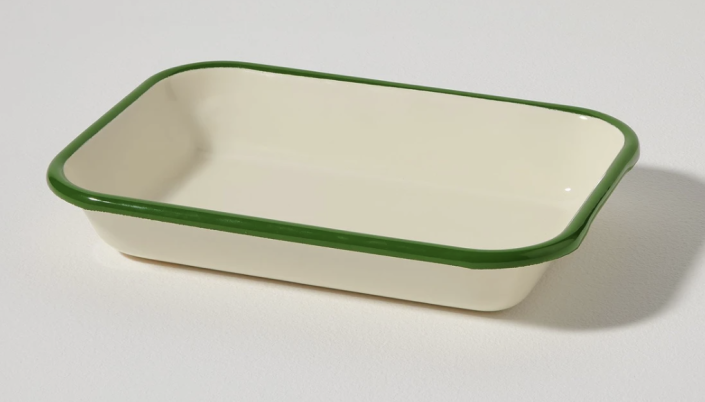 """<p><strong>$35.00</strong></p><p><a href=""""https://us.toa.st/products/enamel-bowl-cream-leaf"""" rel=""""nofollow noopener"""" target=""""_blank"""" data-ylk=""""slk:Shop Now"""" class=""""link rapid-noclick-resp"""">Shop Now</a></p><p>A twist on traditional enamelware, these pieces from <a href=""""https://us.toa.st/"""" rel=""""nofollow noopener"""" target=""""_blank"""" data-ylk=""""slk:Toast"""" class=""""link rapid-noclick-resp"""">Toast</a> are perfect for picnics, hiking or a summer porch dinner.</p>"""