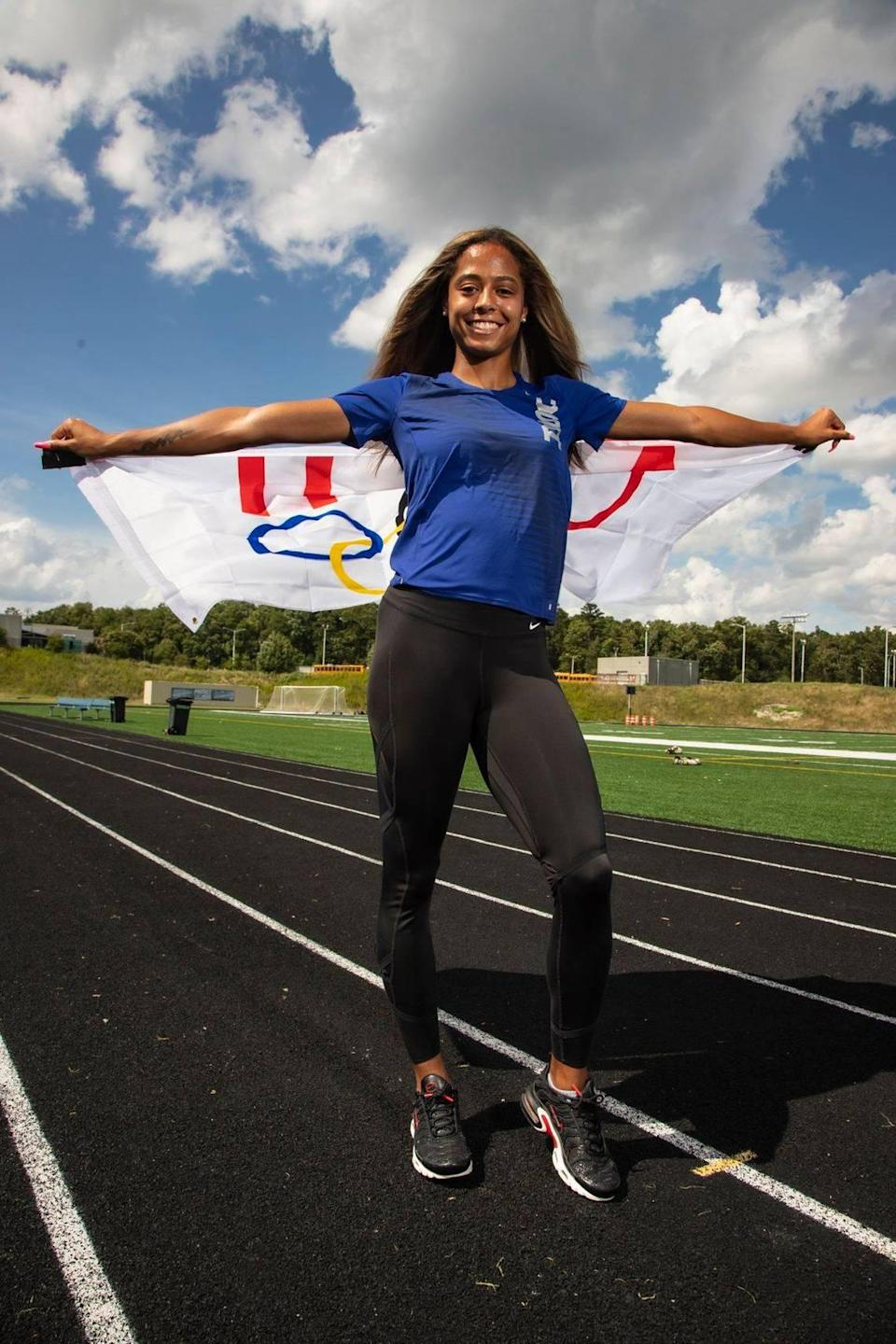 Former Mallard Creek track star Gabbi Cunningham qualified the USA Olympics team in the 100-meter hurdles for the 2021 games in Tokyo and made the event's final.