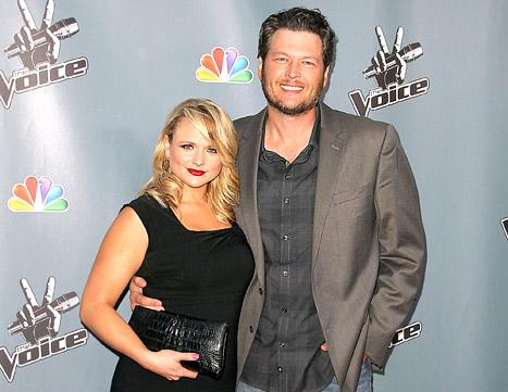 Blake Shelton and Miranda Lambert Hit the Red Carpet Amid Cheating Rumors