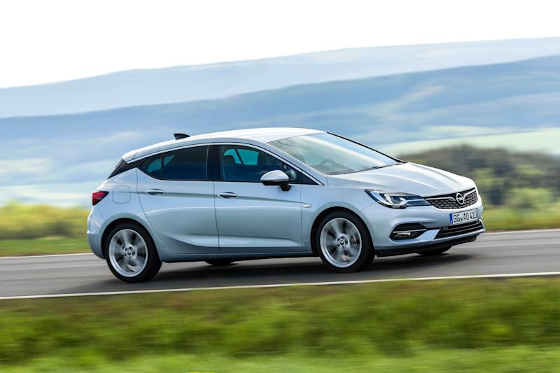 opel astra 2020 restyling