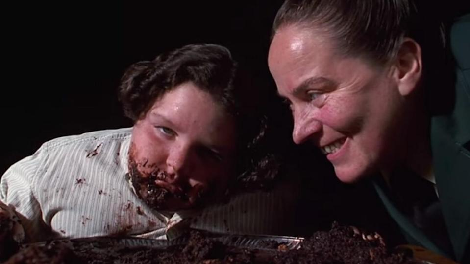 Pam Ferris played Miss Trunchbull in the 1996 movie of 'Matilda'. (Credit: Sony)
