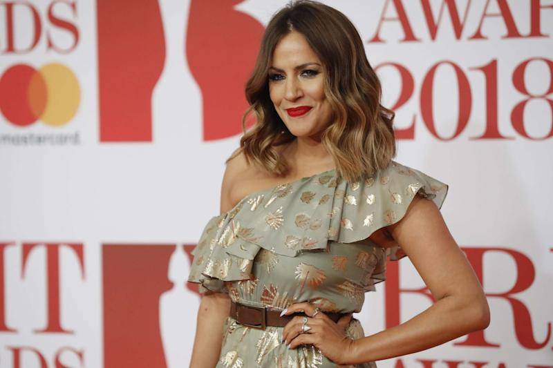 Caroline Flack was found dead in her flat in north London (AFP via Getty Images)
